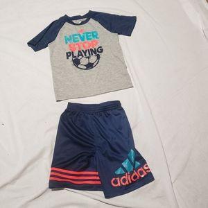 🆕️List Set of Adidas boys activewear